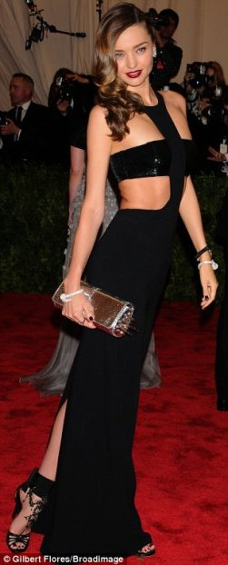 Miranda Kir in Michael Kors. She has the body to pull it off beautifully.